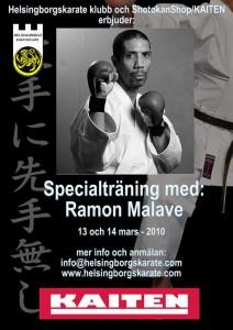 Specialträning med Ramon Malave